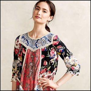 🦄 Anthropologie Vanessa Virginia Inez Swing Dress